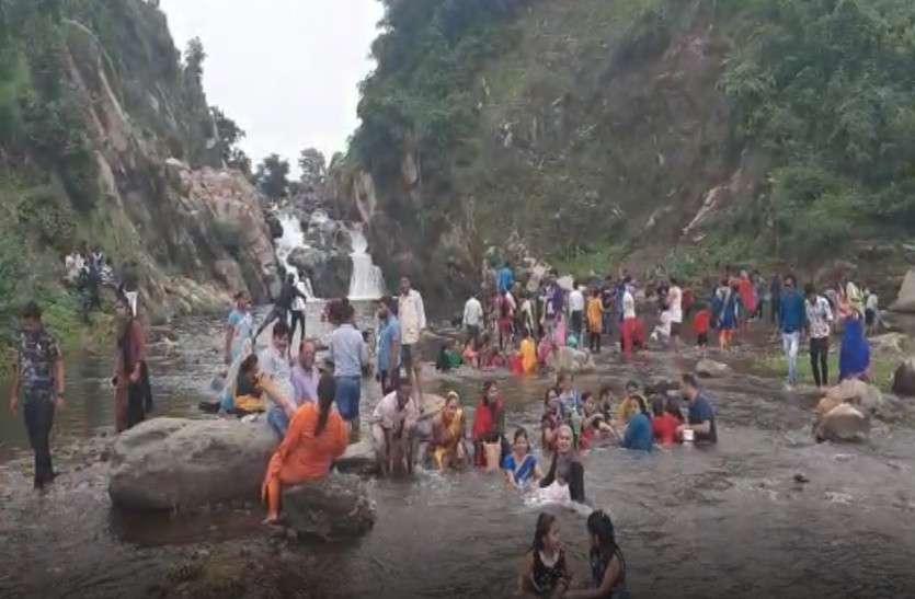 Waterfalls in Rajasthan