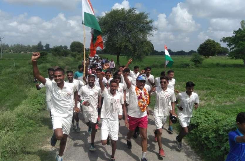 रायबरेली में भारत छोड़ो आंदोलन 78वी वर्षगांठ पर जयहिंद युवा सेना ने यूनिटी फार रन का किया गया आयोजन