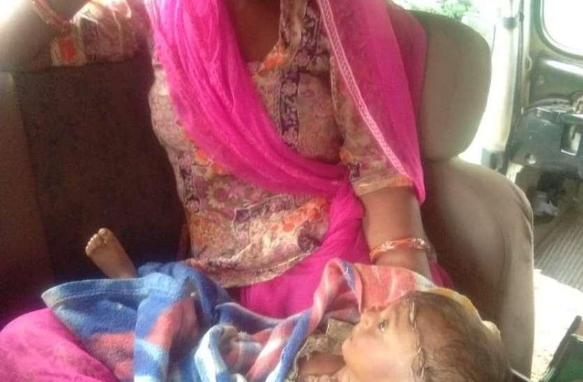 10 माह में संसार से विदा हुआ हितेष, खुली आंखों से निहारता रहा मां को