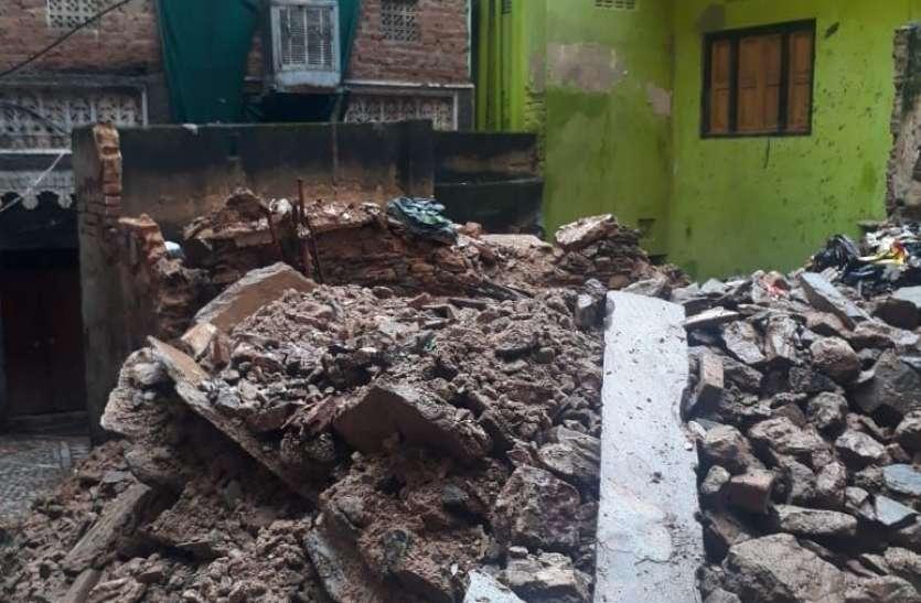 Heavy rain in ajmer : तीन पीढिय़ों के सपने पर टूटा बारिश का 'कहर'