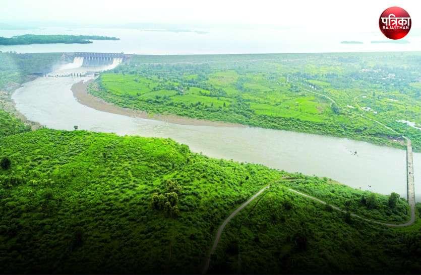 Video...banswara :  मनभावन है माही बांध के अथाह जल और हरियाली के बीच नदी का यह सफर...