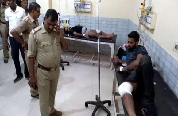 पुलिस मुठभेड़ में डी-9 गिरोह के दो बदमाशों को लगी गोली, दो फरार