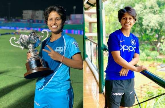 IPL की Game changer अंतरराष्ट्रीय क्रिकेटर poonam yadav  को अर्जुन अवार्ड