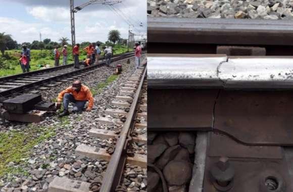 Railway: इस रेल लाइन में फैक्चर ट्रैक से धड़धड़ाते हुए गुजरीं ट्रेनें, दो युवाओं की तत्परता से टला बड़ा हादसा, देखें वीडियो