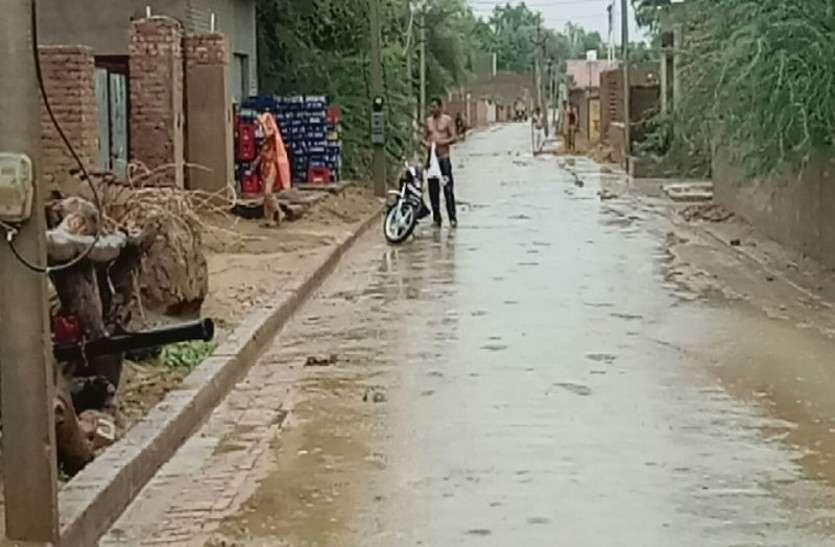 गांवों में वर्षा, शहर में रहा इंतजार