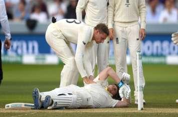चोट के कारण स्टीव स्मिथ लॉर्ड्स टेस्ट से बाहर, जोफ्रा आर्चर की लगी थी गेंद