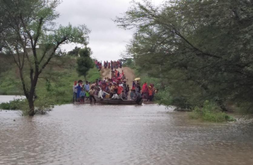 राजस्थान के इस जिले में बिना बारिश के कैसे आ गई बाढ़...