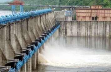 बीसलपुर डेम के 8 गेट खोले, 120200 क्यूसेक पानी छोड़ा