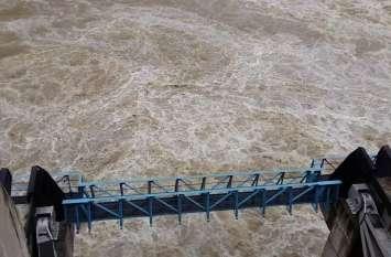 मौसम तंत्र पड़ा कमजोर ... बीसलपुर डेम से घटने लगी पानी की निकासी