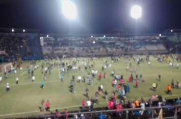 VIDEO: होंडुरस में फुटबॉल मैच से पहले भड़की हिंसा, तीन लोगों की मौत
