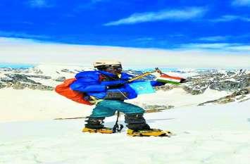 बस्तर की बेटी नैना ने एशिया की दूसरी सबसे ऊंची चोटी माउंट कैथड्रेल पर फहराया तिरंगा