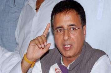 कांग्रेस प्रवक्ता रणदीप सुरजेवाला ने आरएसएस-भाजपा को बताया दलित विरोधी, कहा- सामने आया असली एजेंडा