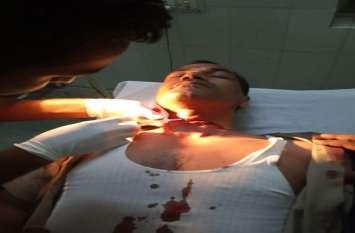अवध-आसाम एक्सप्रेस में ट्रेन में आरपीएफ के जवान पर धारदार हथियार से हमला