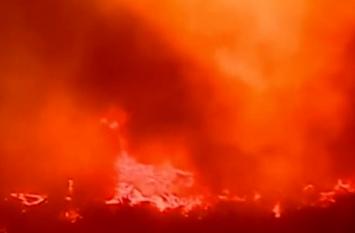 Video: स्पेन की जंगल में बड़ा हादसा,  900 हेक्टेयर जमीन आग की चपेट में