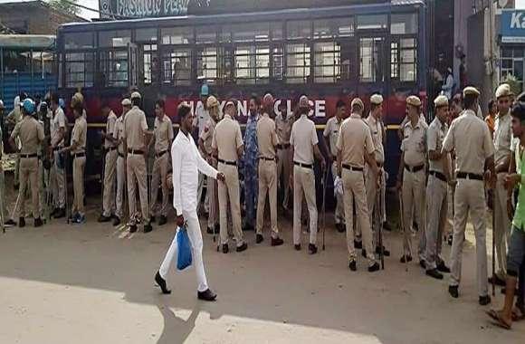 लवजेहाद: तीन जिलों की पुलिस फिरोजपुर झिरका में की तैनात
