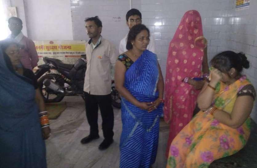 संजय गांधी अस्पताल में भर्ती मरीज तीसरी मंजिल से गिरा