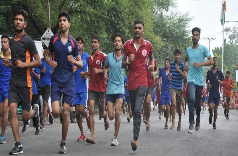 सद्भावना दौड़: आधी दूर दौड़े अधिकारी, नेताओं की भी फूली सांसें...