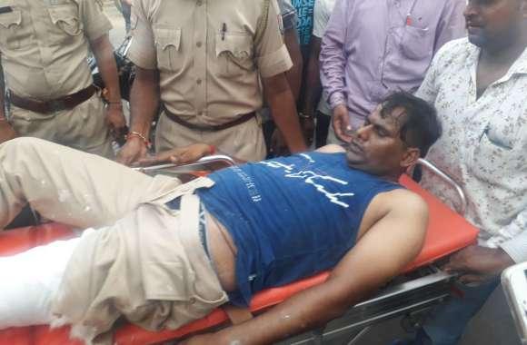 Firing in jaipur : पुलिस-बदमाशों के बीच मुठभेड़, दो पुलिसकर्मियों को लगी गोली