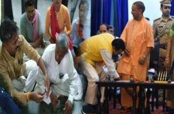 योगी कैबिनेट के विस्तार के बाद आई बड़ी खबर, इस नेता ने कराया मुंडन, हैरान करने वाला कारण