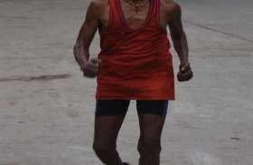 सदभावना के लिए 75 साल के वृद्ध ने लगाई दौड़, युवाओं ने बढ़-चढ़कर लिया हिस्सा