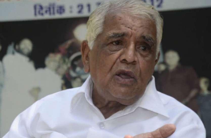 भाजपा के कद्दावर नेता और पूर्व सीएम बाबूलाल गौर का निधन, गोविंदपुरा से लगातार 41 साल तक रहे विधायक