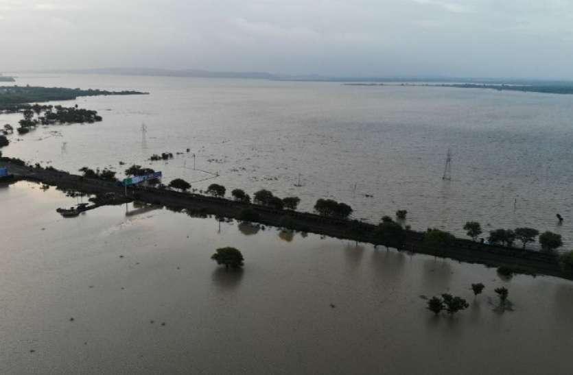 lake view bhopal : खेत में उपयोग हो रहे केमिकल के कारण बड़े तालाब के पानी की गुणवत्ता हुई खराब