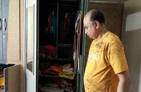 बावरिया गिरोह ने बैंक मैनेजर के घर लाखों की नगदी व जेवरात उड़ाये, सीसीटीवी फुटेज हुई वायरल