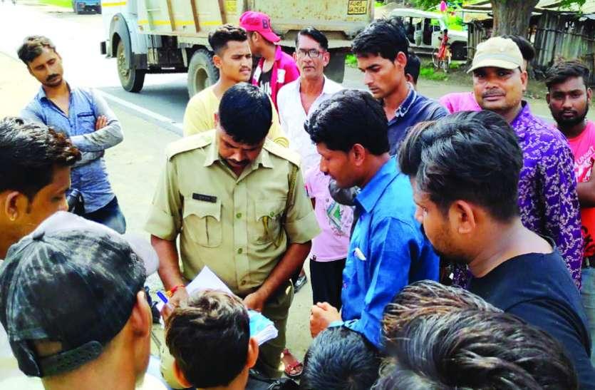 पाइप लाइन का भंगार बेचने पर मचा बवाल, अधिकारियों पर लगाए मिलीभगत के आरोप, पुलिस ने जब्त किया माल