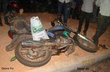 दाहोद रोड टोल नाके पर दर्दनाक हादसा, तेज रफ्तार मोटरसाइकिलों की भिड़ंत में युवक की मौत