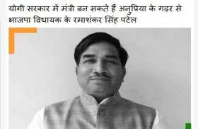 पत्रिका की खबर पर लगी मुहर, अनुप्रिया के गढ़ से रमाशंकर सिंह पटेल बनाए गए मंत्री