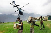 उत्तराखंडः बाढ़ पीड़ितों के लिए राहत सामग्री ले जा रहा हेलीकॉप्टर क्रैश, तीन की मौत