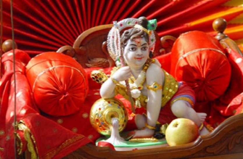 Shree krishna janmashtami 2019 : जन्माष्टमी पर यहां सजेगा फूल बंगला, भगवान के दर्शन करने का ये है शुभ मुहूर्त