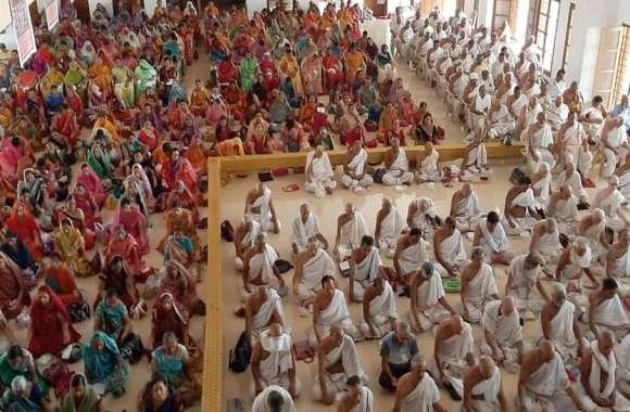 जीरावला में त्रिदिवसीय मौन साधना शुरू