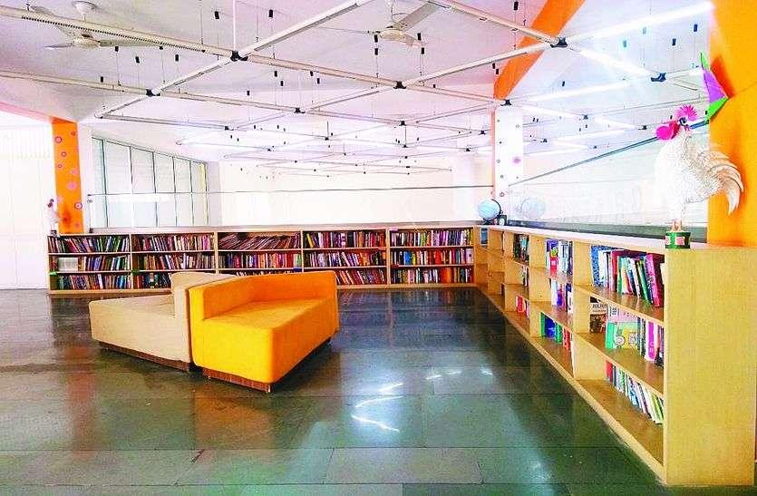 library of jkk: हाईटेक हुई जेकेके की लाइब्रेरी