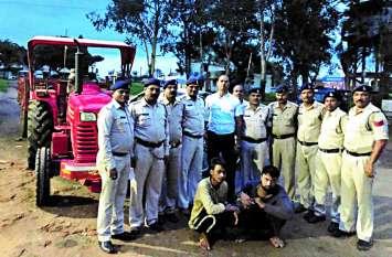 अंतरराज्यीय वाहन चोर गिरोह का खुलासा: दो सगे भाइयों से लाखों के वाहन जब्त
