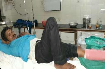 Crime in Agra रात्रि में कपड़ा कारोबारी को गोली मारी, दो लाख की लूट