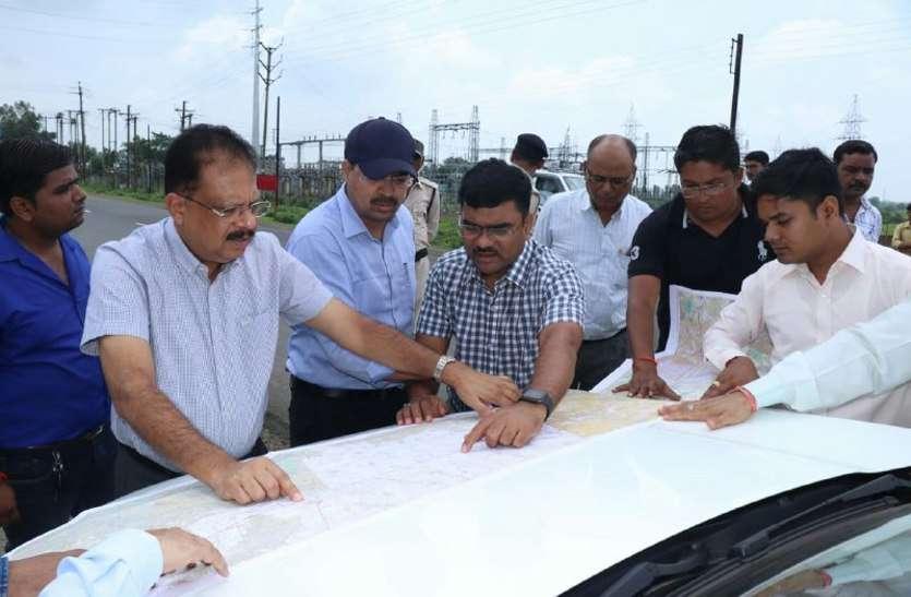 भोपाल-इंदौर ग्रीन एक्सप्रेव-वे के लिए अफसरों ने देखी जमीनी हकीकत