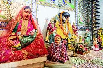 Janmashtami : 228 साल पहले 40 दिन में बैलगाड़ी से यहां पहुंची थी यशोदा माता की प्रतिमा