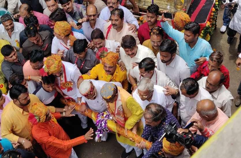 shivraj singh celebration Krishna Janmashtami 2019