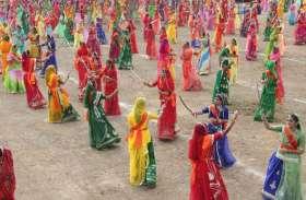 राजपूत समाज की दो हजार युवतियों का तलवार रास