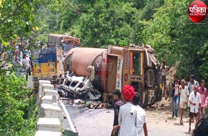 Road accident : देसूरी नाल में टैंकर के नीचे दबने से गई 9 लोगों की जान, कई घंटों तक लगा रहा जाम