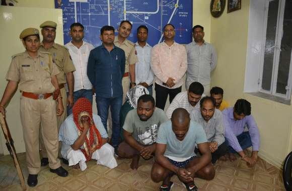 अलवर के पूर्व प्राचार्य को नाइजीरियन गिरोह ने फंसाकर ठगे थे 71 लाख रुपए, अलवर पुलिस ने इस तरह किया गिरफ्तार