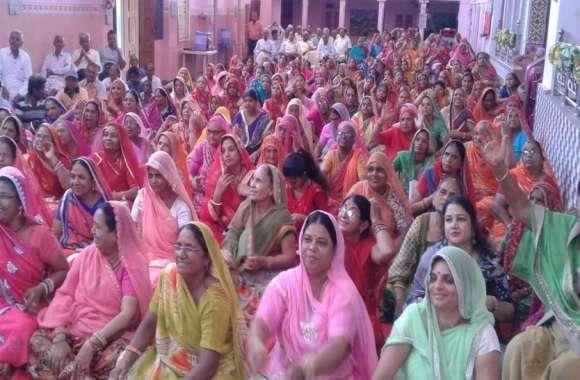 कर्म के अनुसार मिलती है मृत्यु. रामद्वारा में श्रीमद् भागवत सप्ताह : संत रामप्रसाद ने किया सम्बोधित