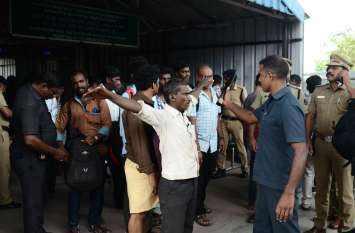 सोशल मीडिया ने बढ़ाई पुलिस की मुश्किल, अलर्ट के बाद चेन्नई में बढ़ाई गई सुरक्षा