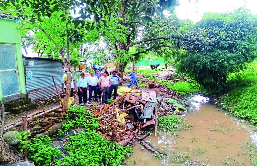 लिबोंदी से आ रही बिलावली की चैनल जगह-जगह ब्लॉक, पीपल्यापाला का पानी रिंग रोड ने मोड़ा