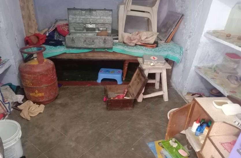 ब्रह्मपुरी मोहल्ले में दूसरे दिन भी चोरी, जेवरात व नकदी पर किया हाथ साफ