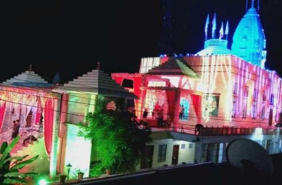 PHOTO: जन्माष्टमी की पूर्व संध्या पर निवाई श्याम मंदिर आकर्षक रोशनी से हुआ जगमग...देखे फोटो
