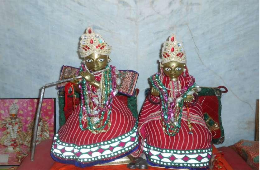 लूणवां में 250 साल पुराना श्रीकृष्ण बिहारी मंदिर