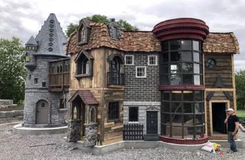 2 साल की बच्ची के लिए बनाया गया हैरी पॉटर थीम पर बेस्ड घर, मौजूद हैं ये सुविधाएं