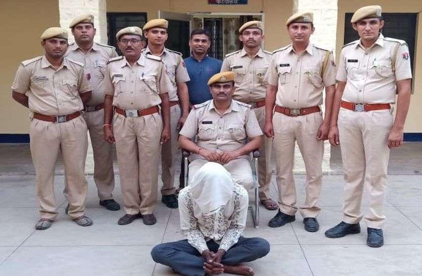 एमपी का तस्कर रामदेवरा ले जा रहा था अफीम, पकड़ा गया